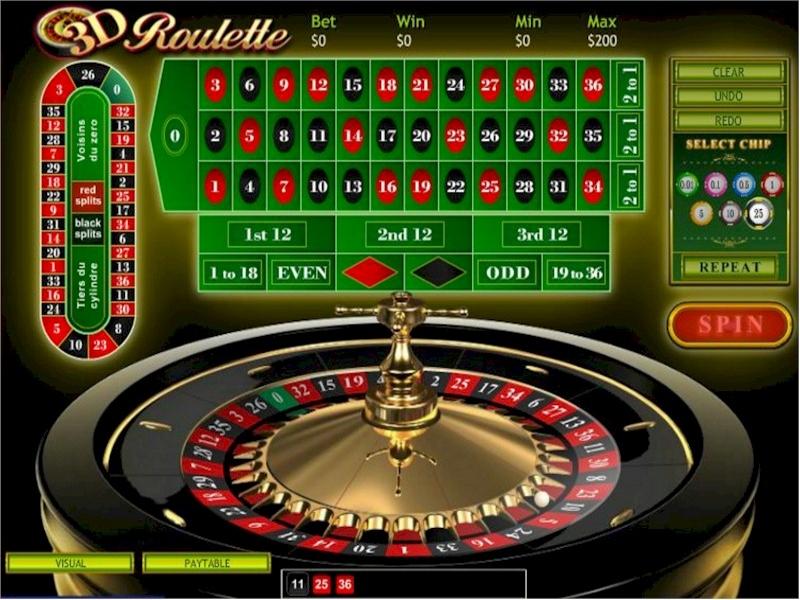 3D Online Roulette Review