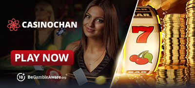 Play Progressive Jackpot Slots at Casino Chan