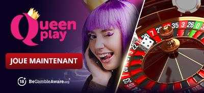 Jouez à des jeux de roulette sur QueenPlay Casino