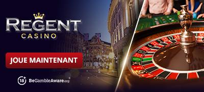 Jouez à des jeux de roulette au Regent Casino
