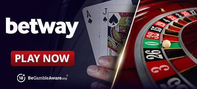 Play Roulette Games at Betway Casino