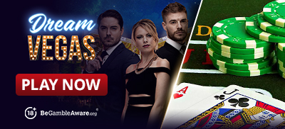 Play Blackjack at Dream Vegas Casino