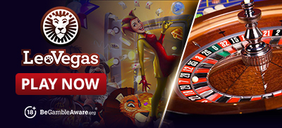Play Roulette Games at Leo Vegas Casino