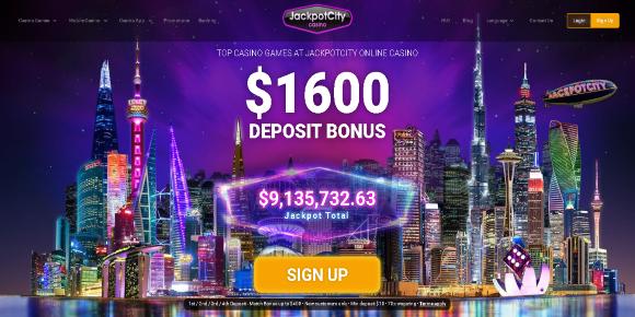 JackpotCity Screenshot