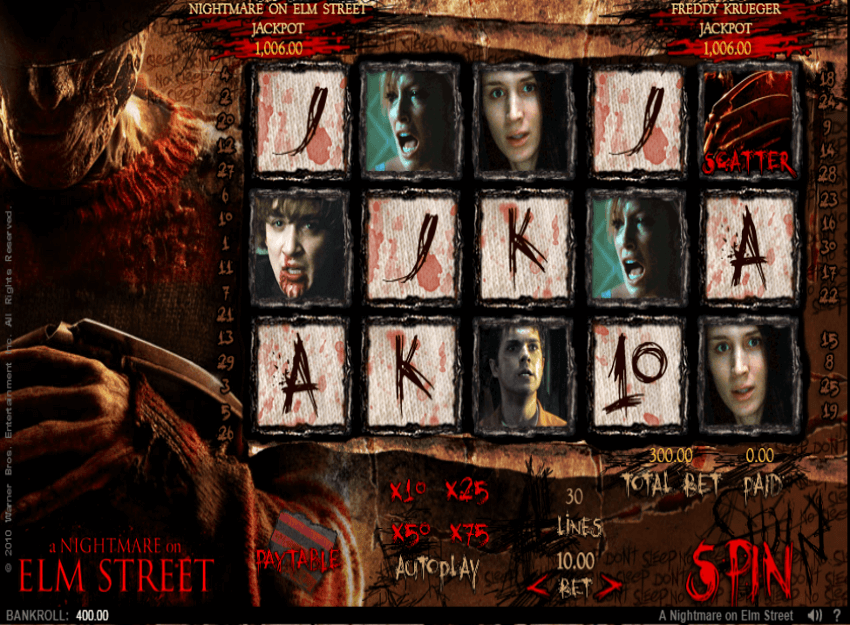 A Nightmare on Elm Street™ Slots Review