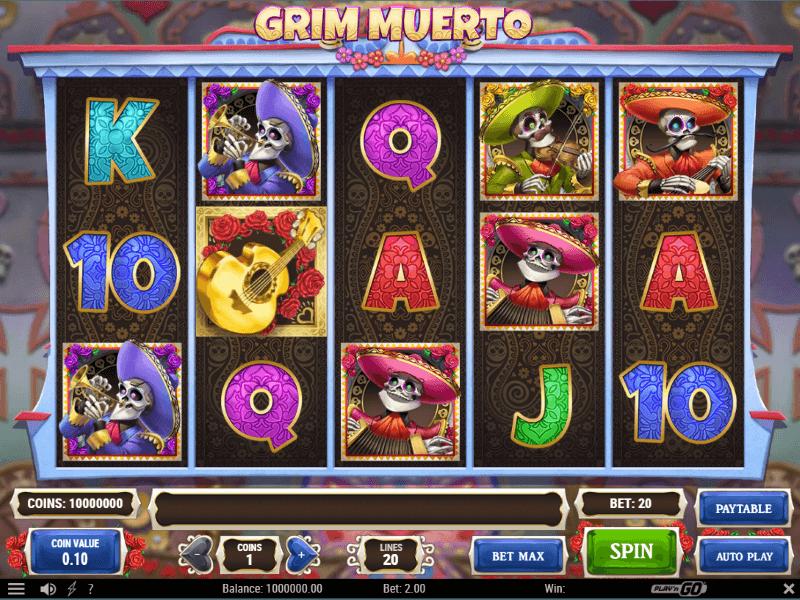 Grim Muerto Online Slots Review