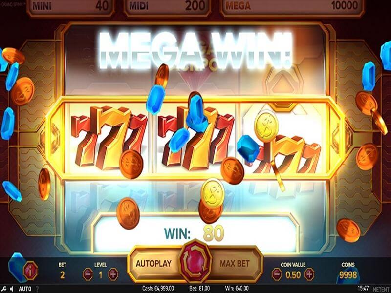 Grand Spinn Online Slots Game