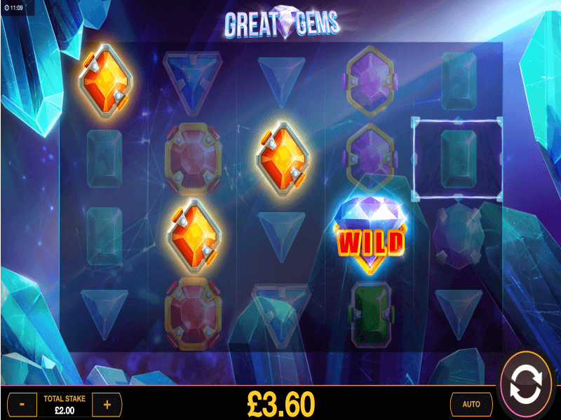About the Great Gems Online Slot Game