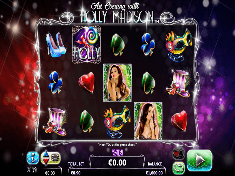 An Evening with Holly Madison Online Slots