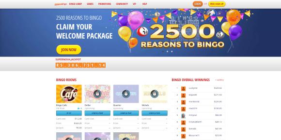 Online Bingo at Instant Bingo