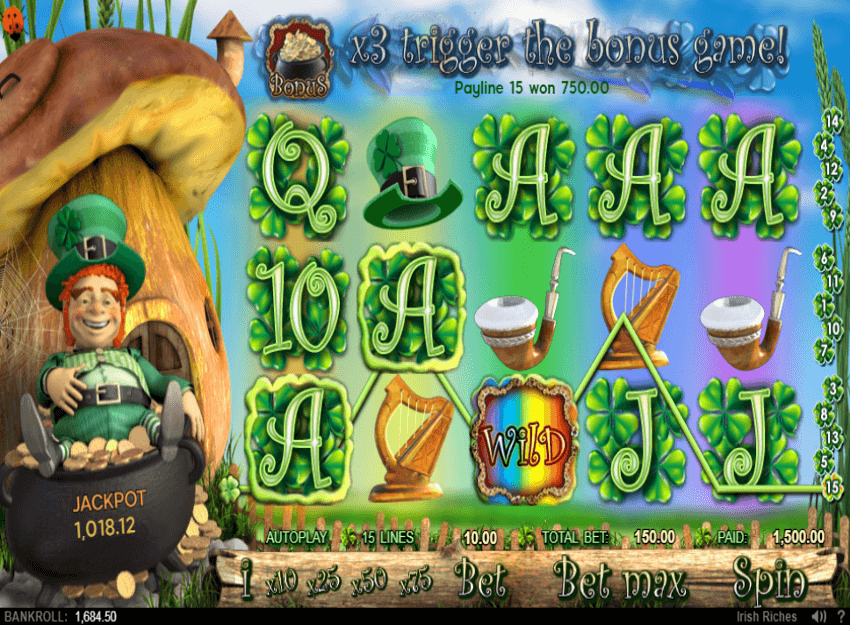 Irish Riches Online Slots Review