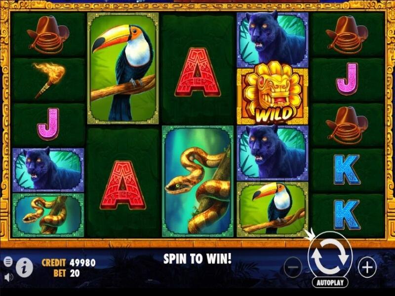 John Hunter and the Aztec Treasure Online Slot