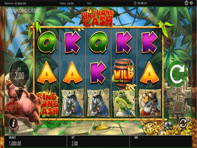 King Kong Cash Slots Game