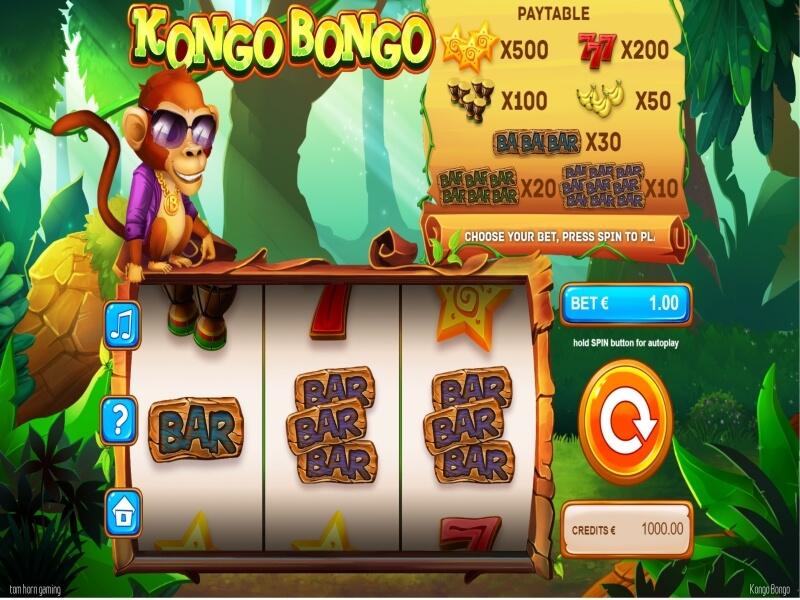 Kongo Bongo Online Slots Game