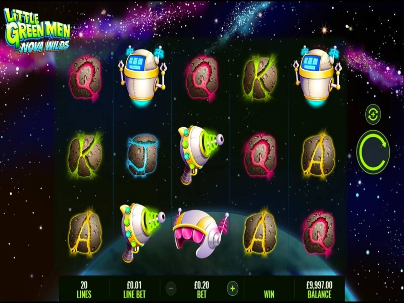 Little Green Men Nova Wilds Online Slots Review