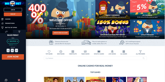 Mr Bet Online Casino