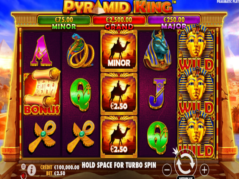 Introducing Pyramid King™: An Online Slots Game in Canada