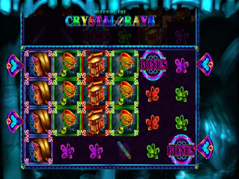 Queen of the Crystal Rays™ Online Slot Game