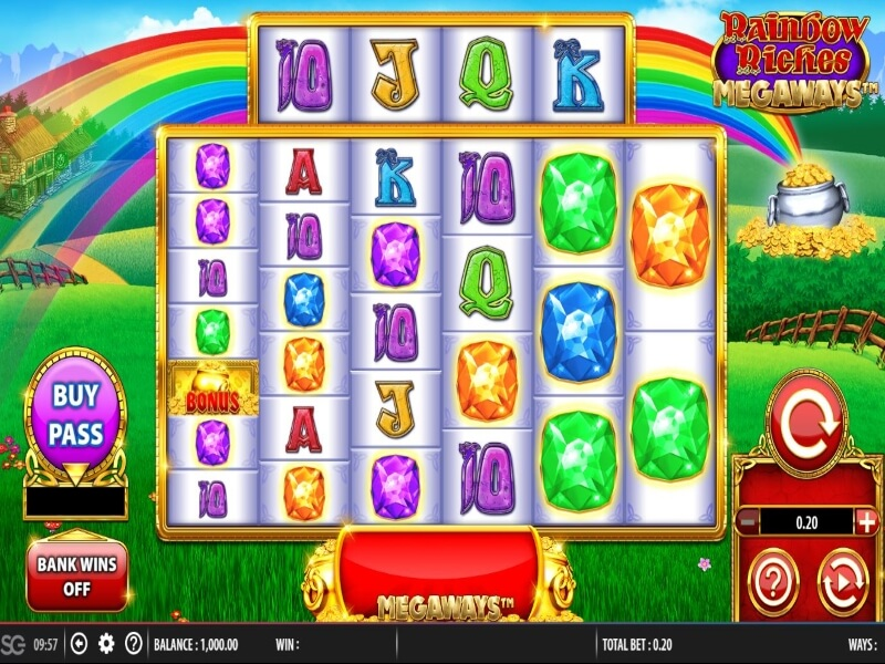 About Rainbow Riches Megaways™ Online Slot Game