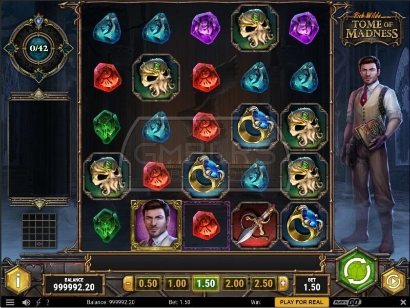 Rich Wilde and the Tome of Madness Online Slots Game