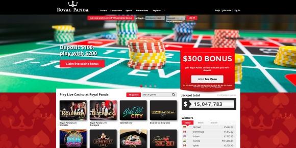 Royal Panda Live Casino