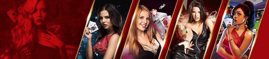 Live Dealer Poker banner