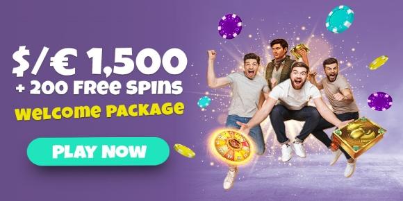 SpinShake Casino Home Page