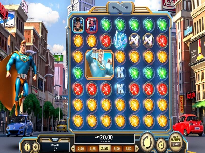 Spinfinity Man™ Online Slots Game