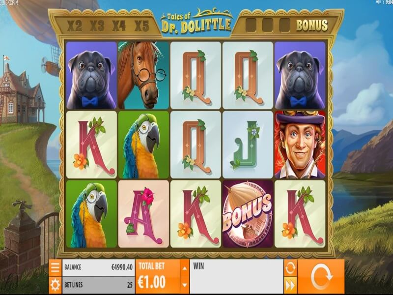 Tales of Dr. Dolittle Online Slots Review