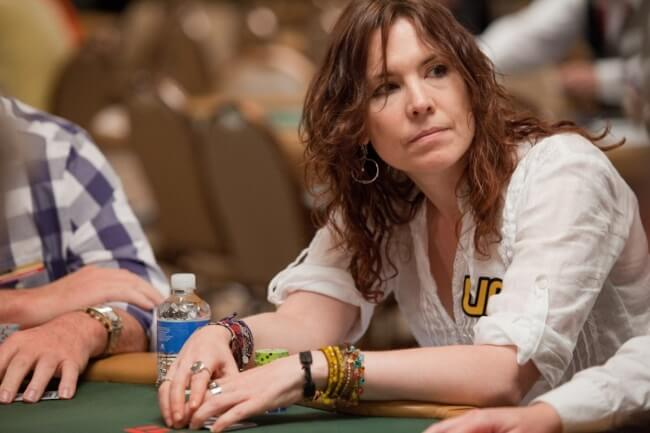 The legendary Annie Duke