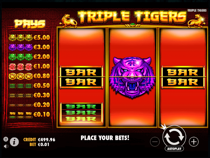 Triple Tigers™ Online Slots Review