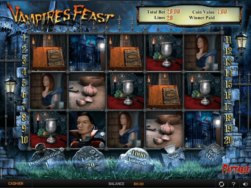 Vampire Feast Online Slots