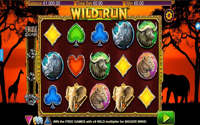 NextGen's Wild Run™ Online Slots Game