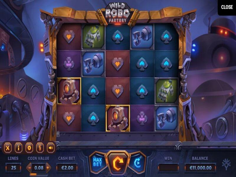 Wild Robo Factory Online Slot