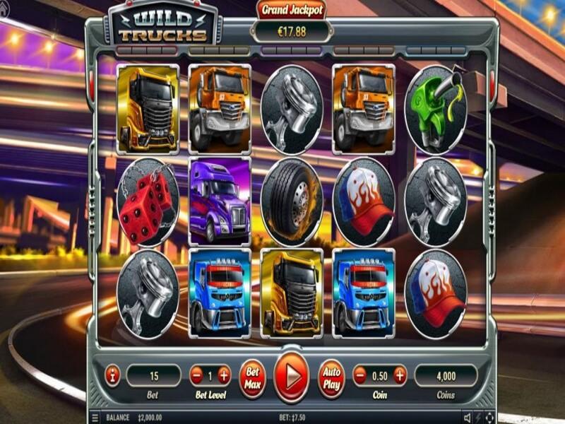 Wild Trucks Online Slots Review