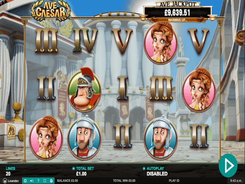 Ave Caesar Slots Game