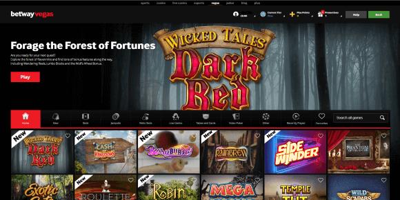 Betway Vegas Homepage