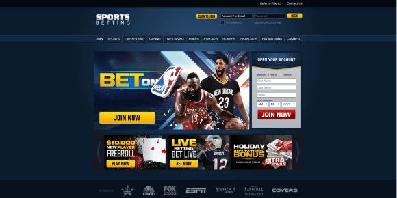 Find best odds at SportsBetting