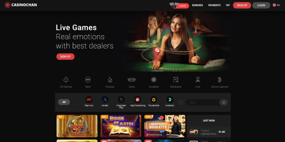 Casino Chan Home Page