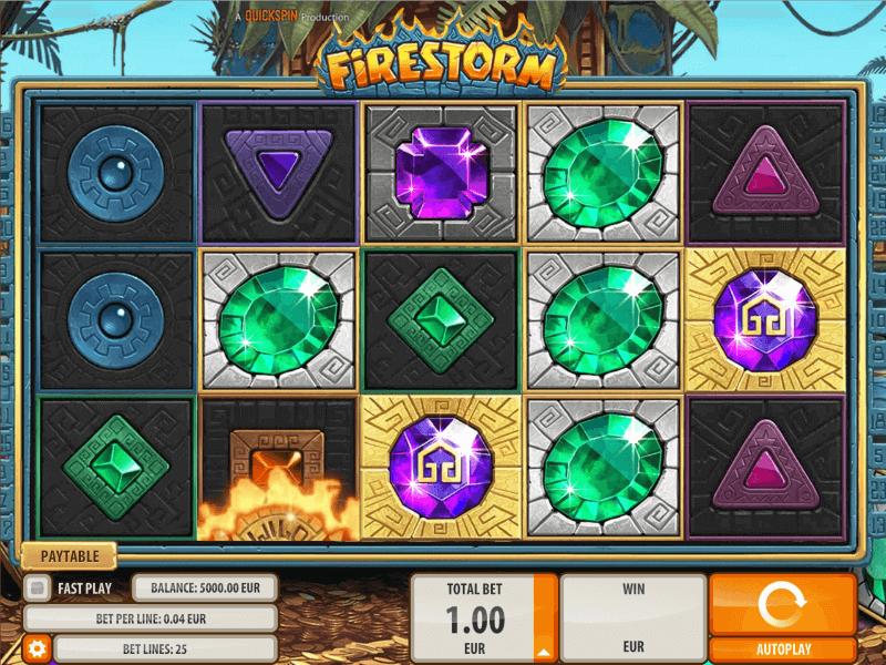 Aztec-Inspired Firestorm Slots