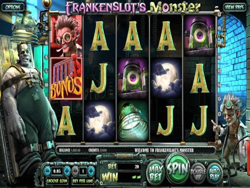Frankenslot's Monster Slots