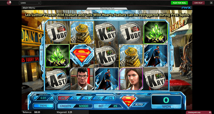 Superman: The Last Son of Krypton Slots