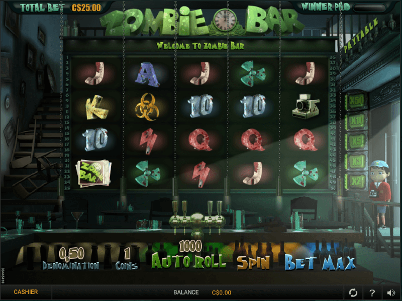 Zombie Bar Online Slots