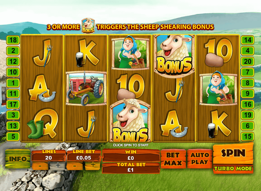 Spud O'Reilly's Crops of Gold Slots