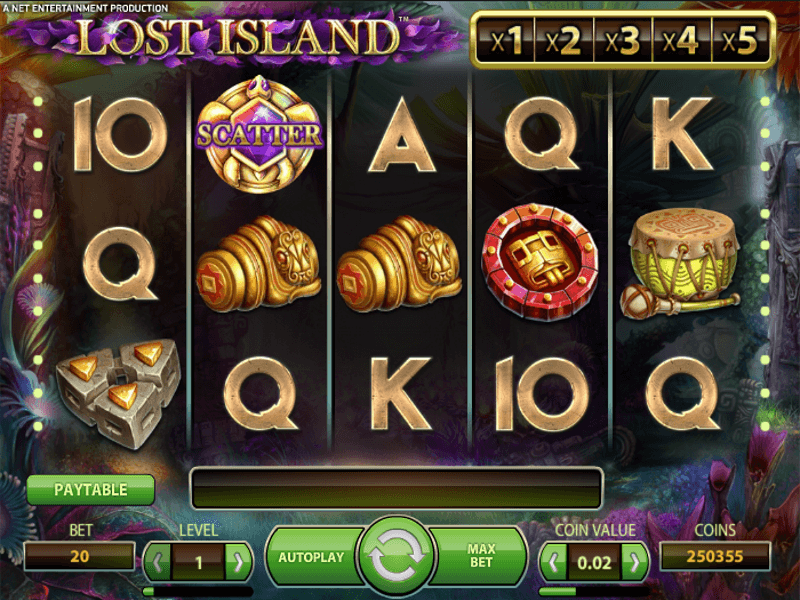 Lost Island™ Online Slots Review