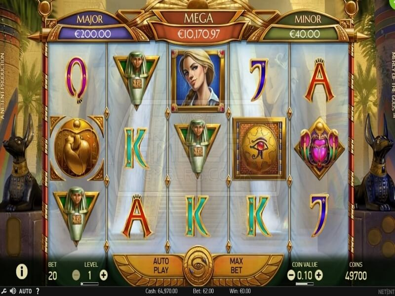 About the Mercy of the Gods™ Online Slot Game