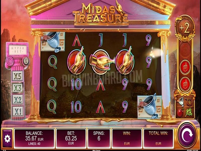 Midas Treasure Online Slots Game