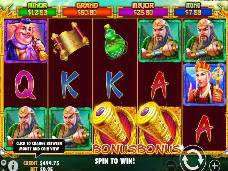 Monkey Warrior Online Slots Review