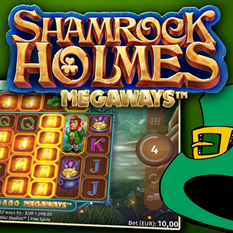 News- new shamrock holmes megaways slot from microgaming