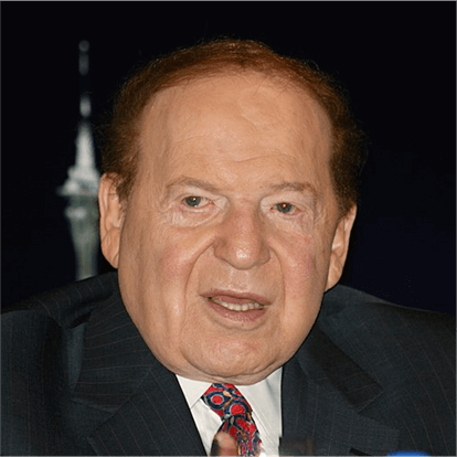 Land Based Gambling Mogul Sheldon Adelson